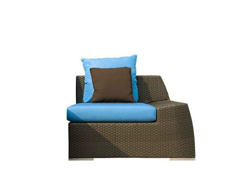 Upholstered garden armchair VOGUE DX - Atmosphera