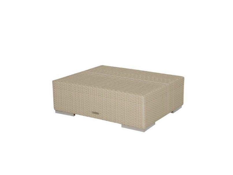 Low rectangular garden side table VOGUE | Low coffee table - Atmosphera