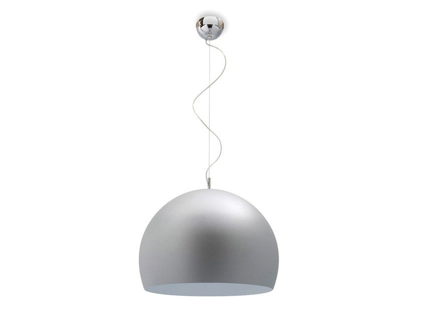 Adjustable metal pendant lamp VOLANS - Calligaris