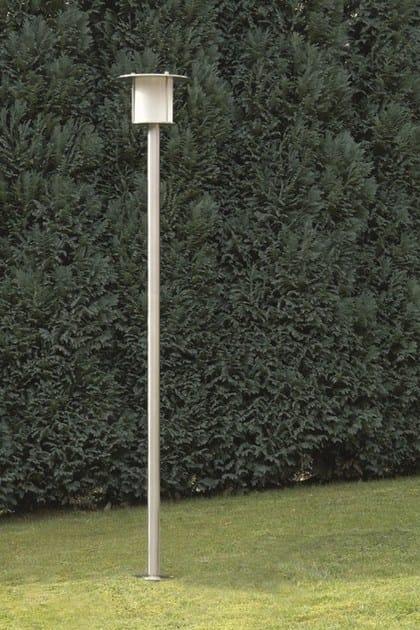 Stainless steel garden lamp post VOLCANO FL - BEL-LIGHTING