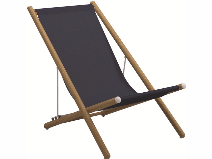Recliner deck chair VOYAGER | Deck chair - Gloster