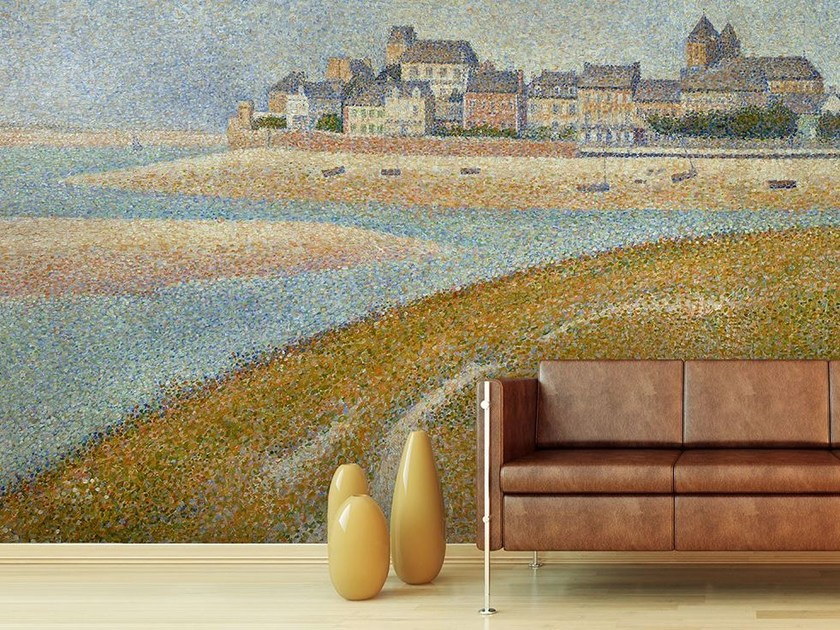 Landscape wallpaper VUE DE LE CROTOY - Wallpepper