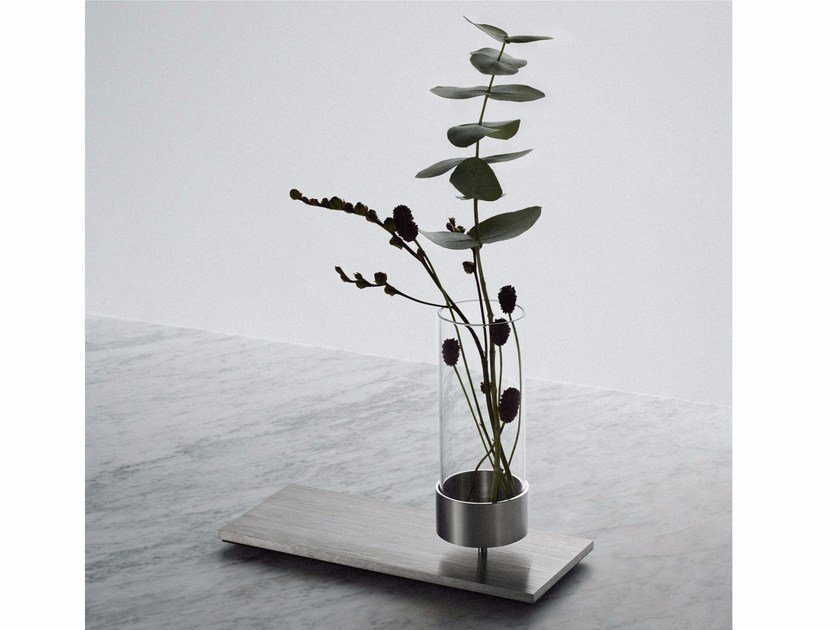 Vaso Vase - Steel by Buster + Punch
