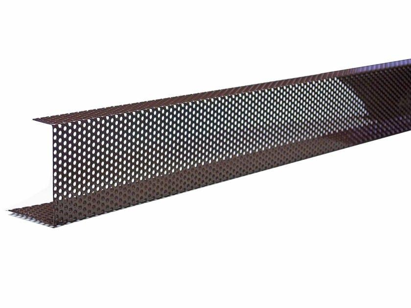 Griglie parapassero di ventilazione listelli di for Listelli metallici