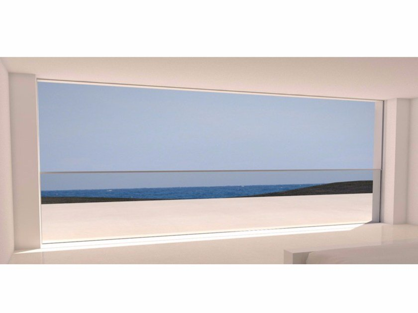 Aluminium vertical pocket sliding window Vertical pocket window system - OTIIMA