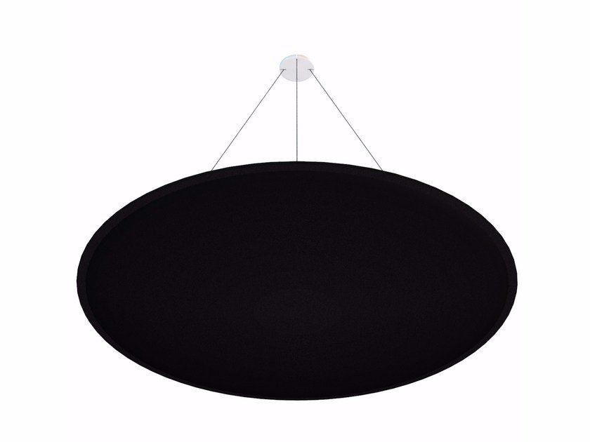 Hanging acoustical panels ViCloud ROUND - Vicoustic by Exhibo