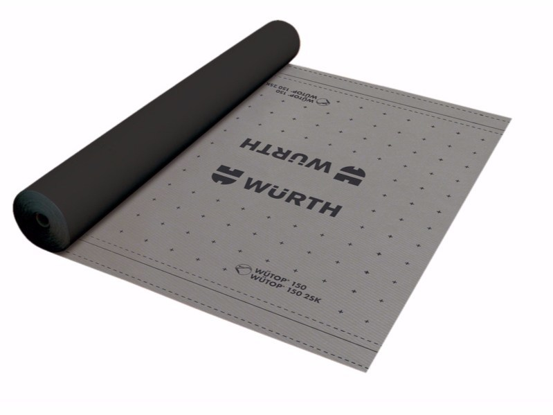 Breathable under roof fabric WÜTOP® 150/2SK - Würth