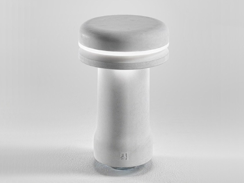 Cement bollard light WALKING | Bollard light - Aldo Bernardi