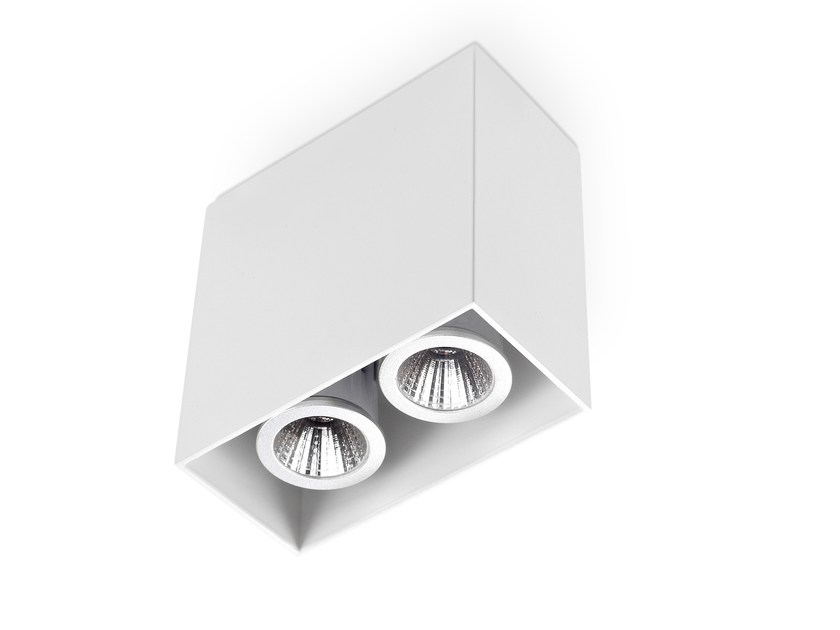 LED aluminium ceiling lamp WALLE 2 by LED BCN