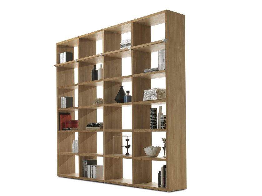 Sectional wooden bookcase WALLSTREET by Riva 1920