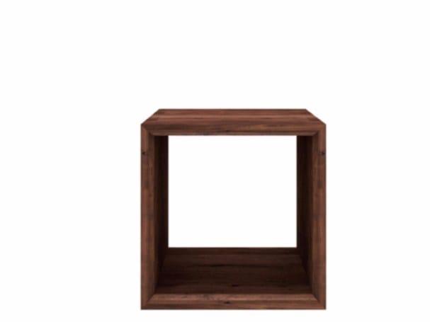 Walnut coffee table WALNUT CUBE | Coffee table - Ethnicraft