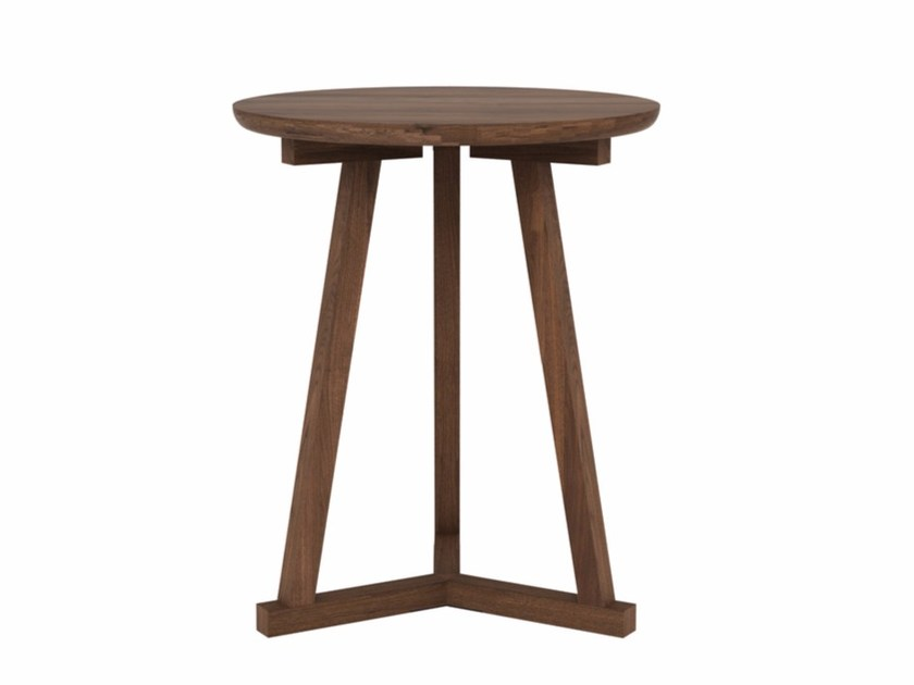 Round walnut coffee table WALNUT TRIPOD | Coffee table - Ethnicraft