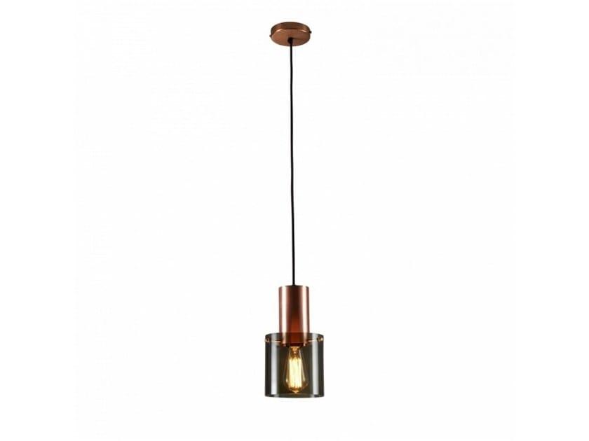 Glass pendant lamp WALTER   Glass pendant lamp - Original BTC