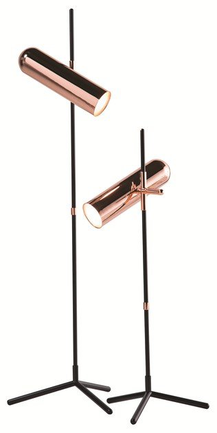 Direct light adjustable floor lamp WANDER by ROCHE BOBOIS