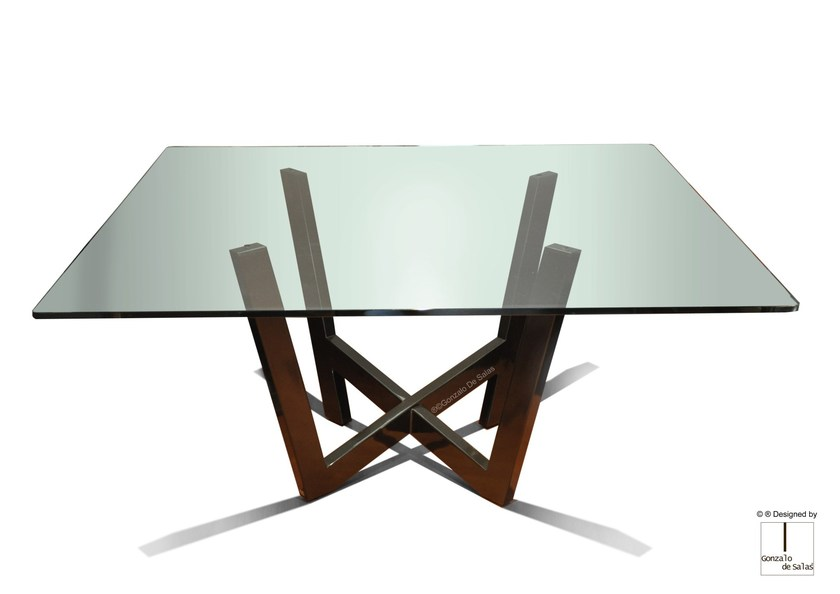 Rectangular dining table WANIA by Gonzalo De Salas