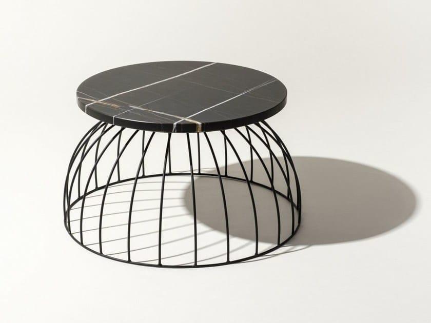 Tavolino rotondo in marmo WASHINGTON NEW | Tavolino in marmo by Elli Design
