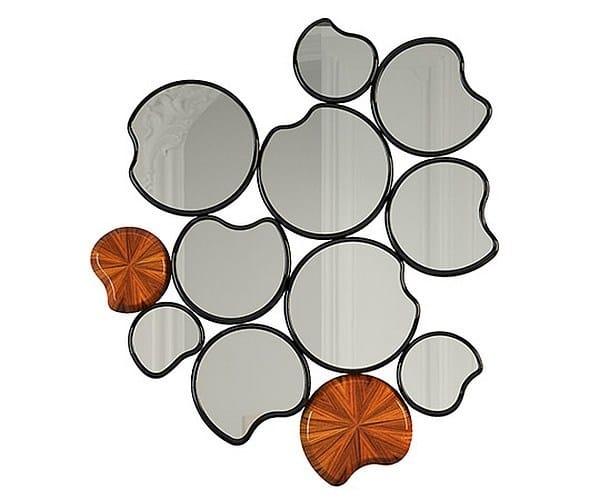 Wall-mounted mirror WATERLILY II - Malabar Emotional Design