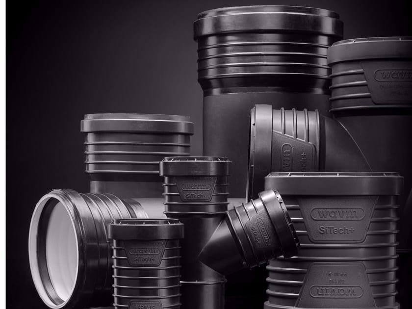 Drainage pipe WAVIN SiTech®+ - WAVIN ITALIA