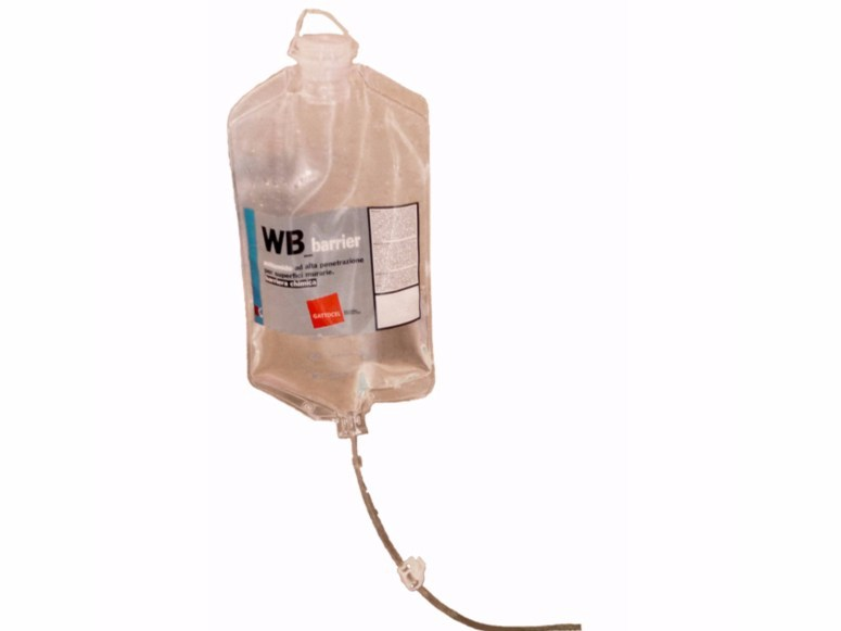 Chemical barrier anti-humidity system WB_bag by Gattocel Italia