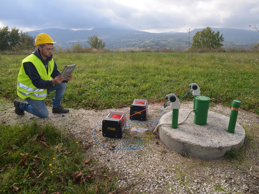 Geotechnical instrumentation WCH-4 - M.A.E. - Advanced Geophysics Instruments