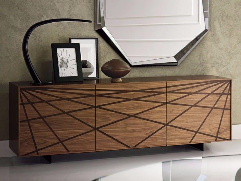 Wooden sideboard WEBBER by Cattelan Italia