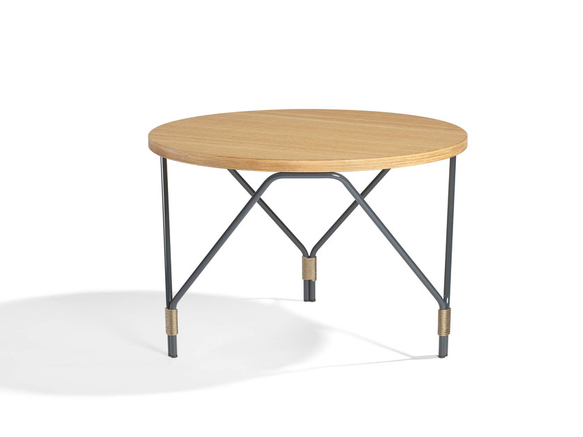 Wooden coffee table for living room WELD | Coffee table for living room - Potocco