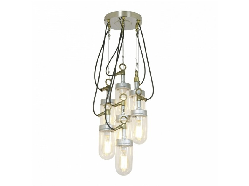 Glass pendant lamp with dimmer WELL GLASS 7679 | Pendant lamp - Original BTC