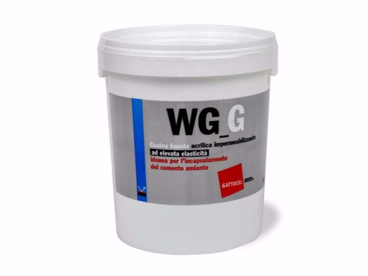 Liquid waterproofing membrane WG_G by Gattocel Italia
