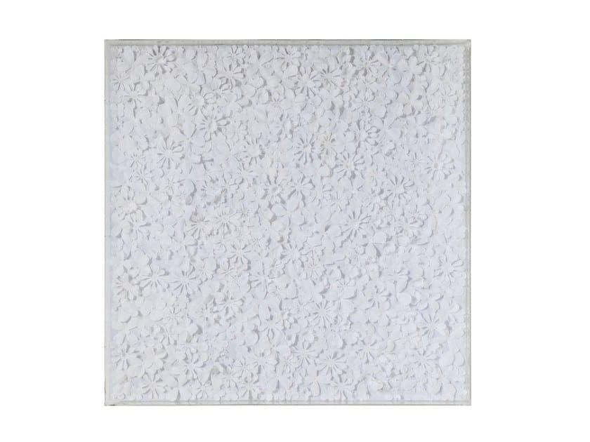 Pannello decorativo WHITE FLOWER - KARE-DESIGN