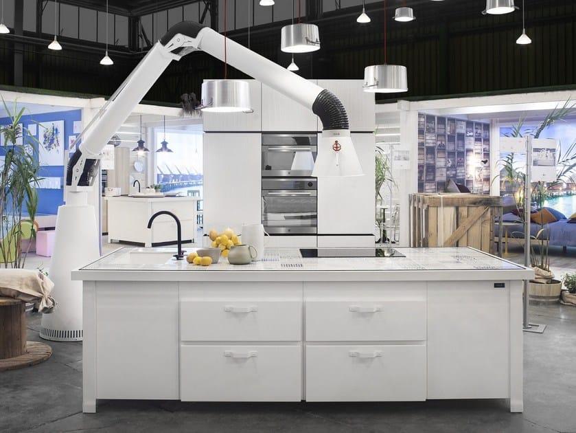 HDF kitchen WHITE MINÀ - Minacciolo