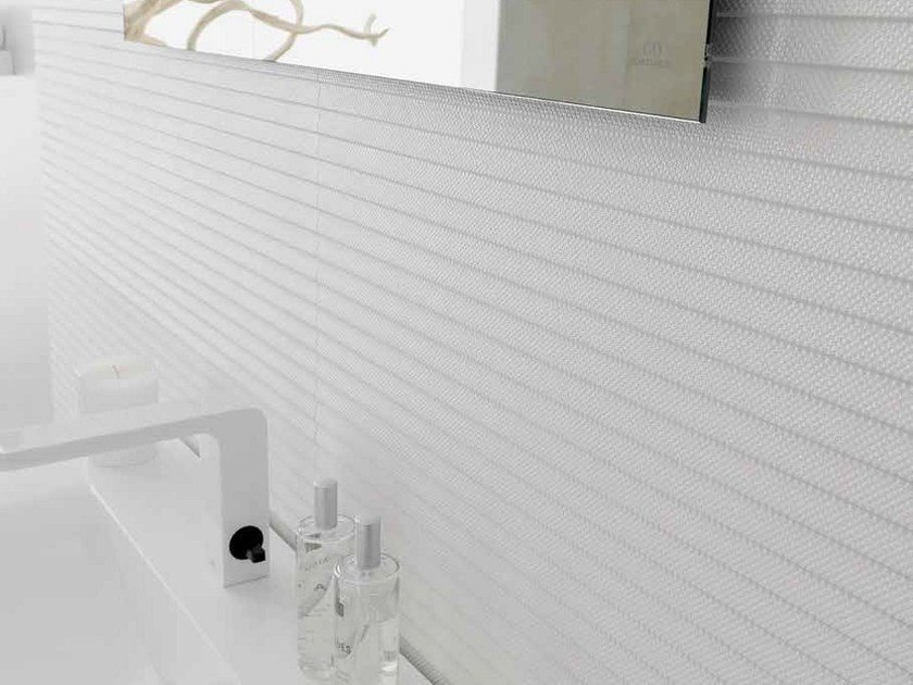 Indoor ceramic wall tiles WHITES | LUCA - Venis