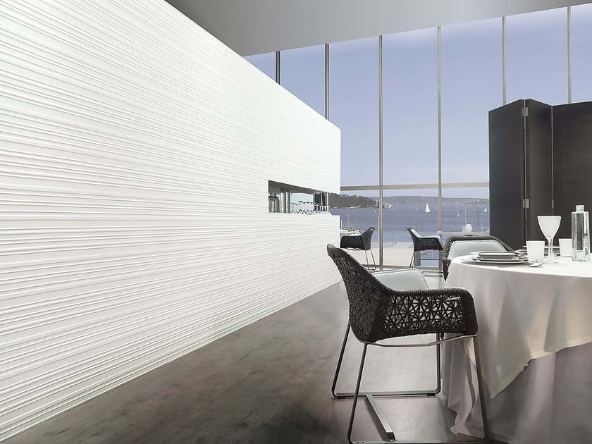 Indoor ceramic wall tiles WHITES | STREET - Venis