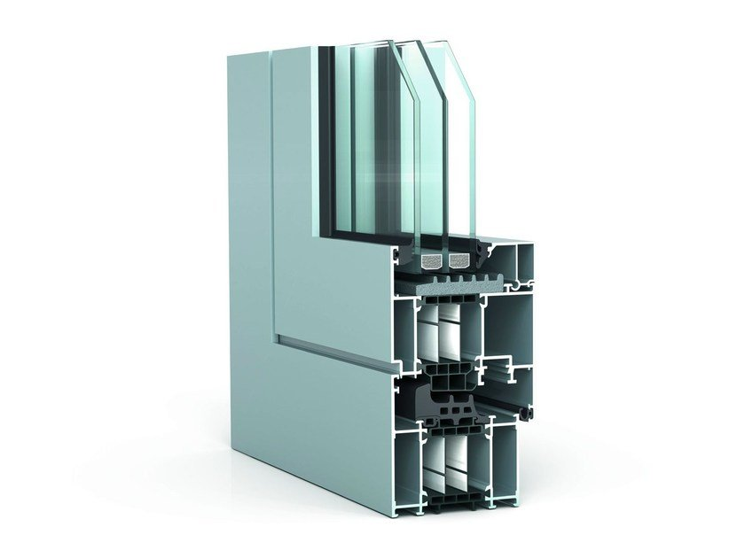 Thermal break window WICLINE 75 1.0 TOP - WICONA