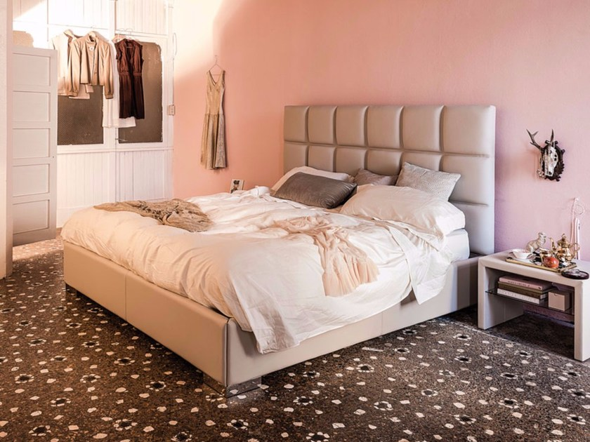 Upholstered double bed WILLIAM - Cattelan Italia