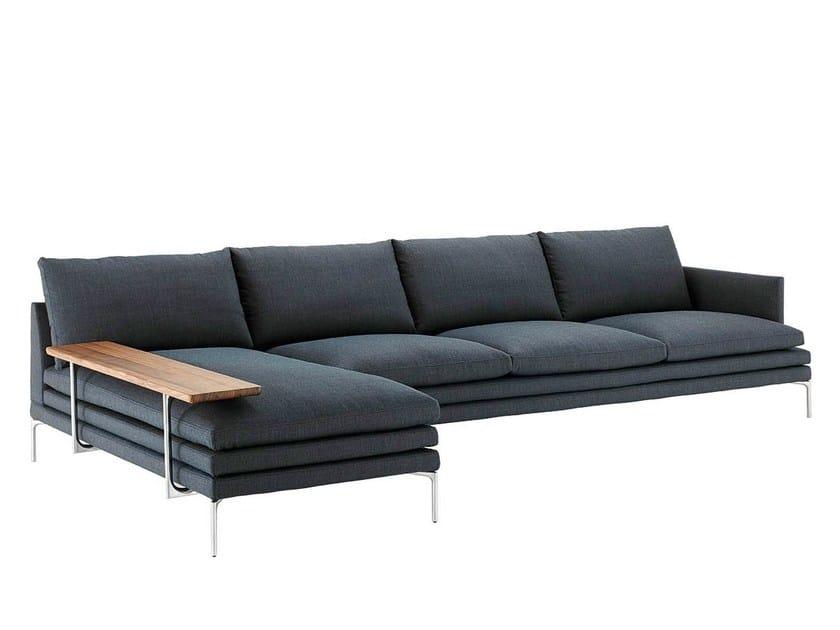 divano in pelle william divano zanotta. Black Bedroom Furniture Sets. Home Design Ideas