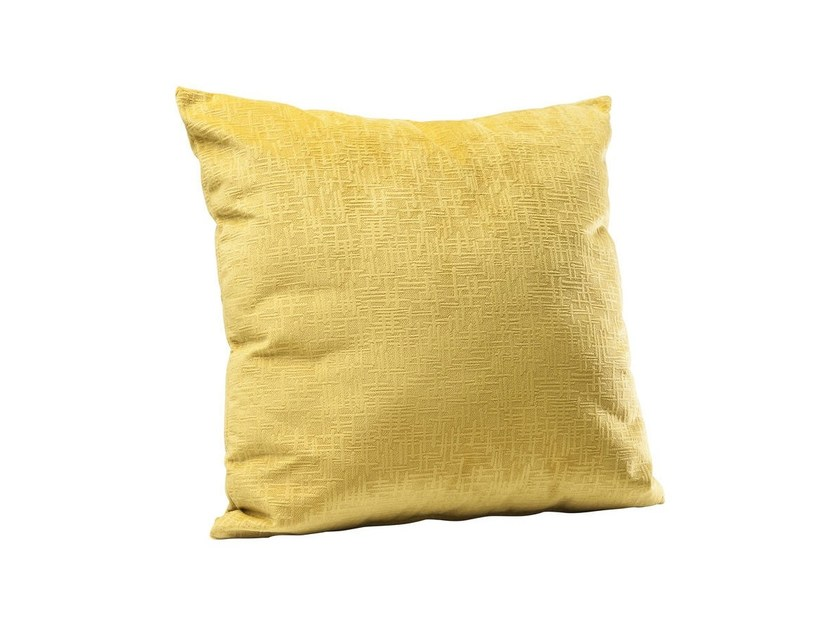 Polyester cushion WIND YELLOW - KARE-DESIGN