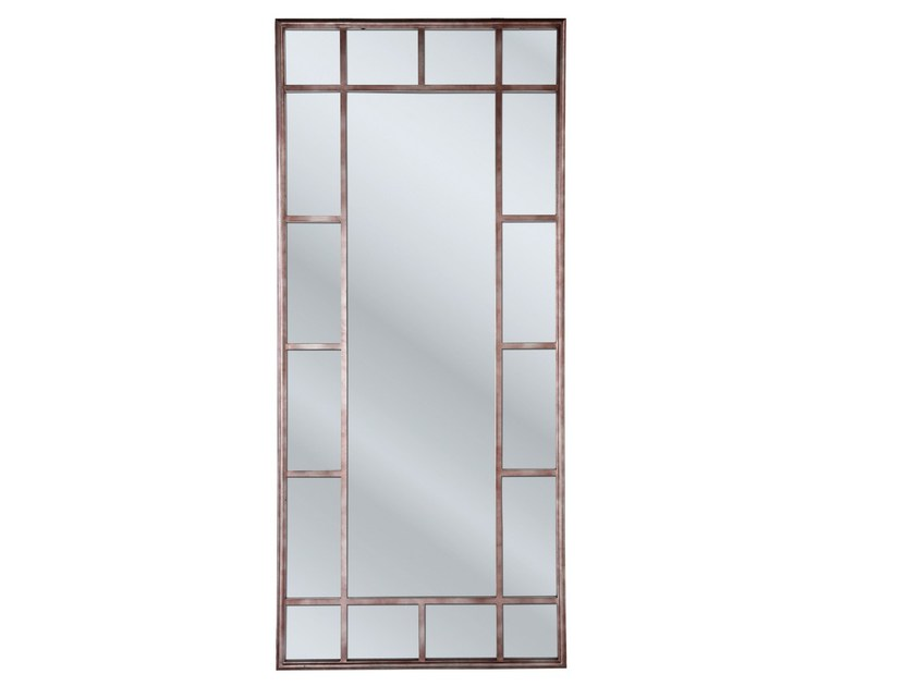 Rectangular framed mirror WINDOW IRON - KARE-DESIGN
