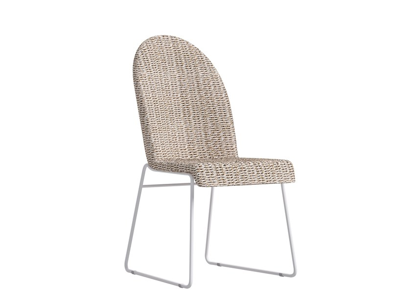 Sled base garden chair WINGS | Sled base chair - Atmosphera