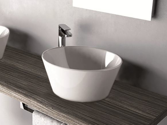 Countertop round washbasin WIRE | Washbasin - Hidra Ceramica