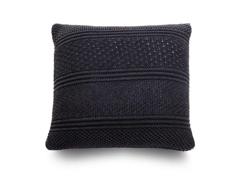 Square sofa cushion INTRECCI | Cushion - Atipico