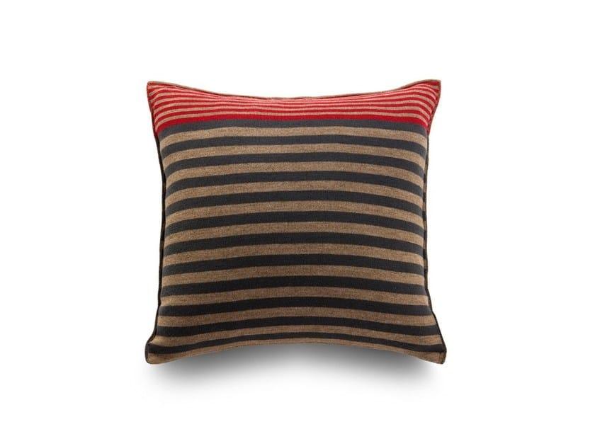 Square sofa cushion LONGITUDINI | Cushion by Atipico