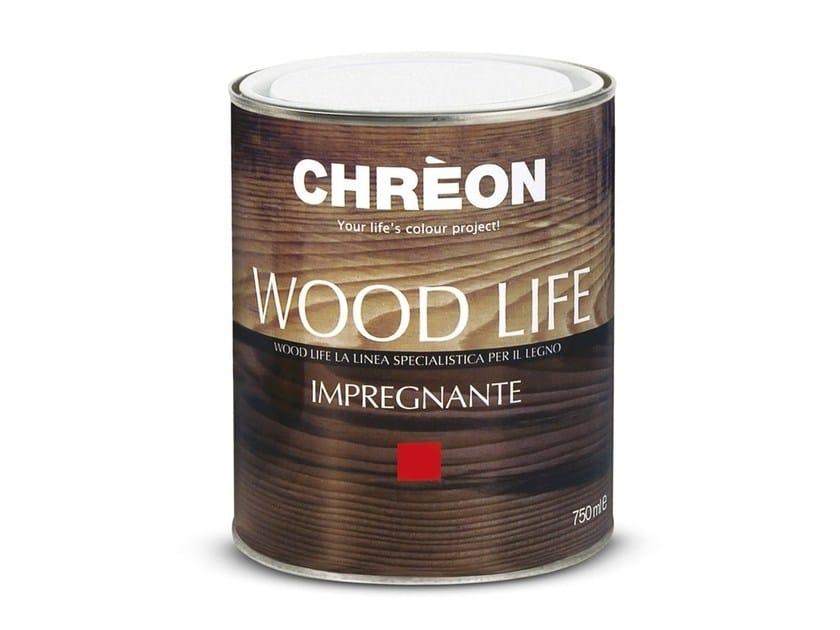 Transparent varnish / Wood treatment WOOD LIFE IMPREGNANTE - Chrèon Lechler