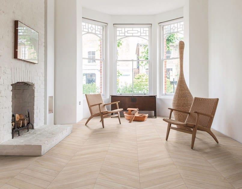 Pavimento de gres porcel nico esmaltado imitaci n madera woodchoice by ragno - Gres esmaltado ...