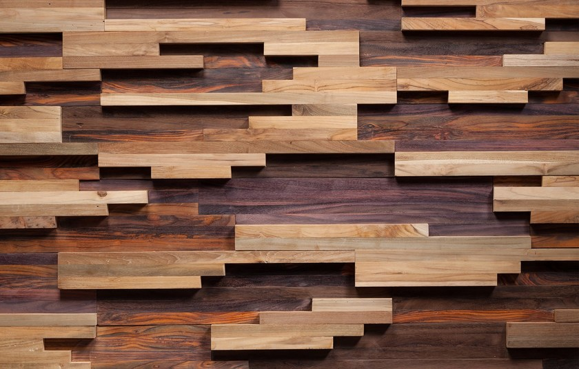 Wooden 3D Wall Cladding WOOSTER by Wonderwall Studios