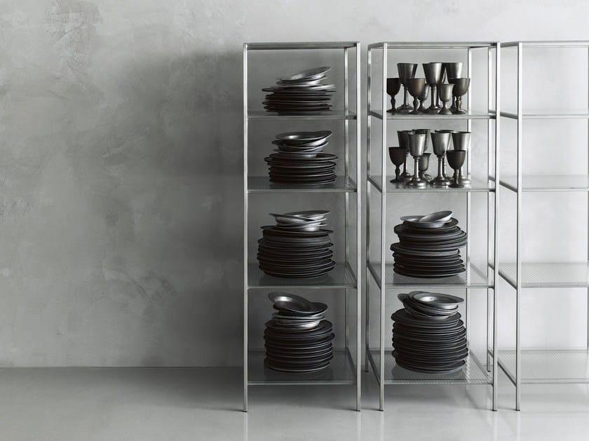 librerie in vetro | archiproducts - Scaffali Metallo E Vetro