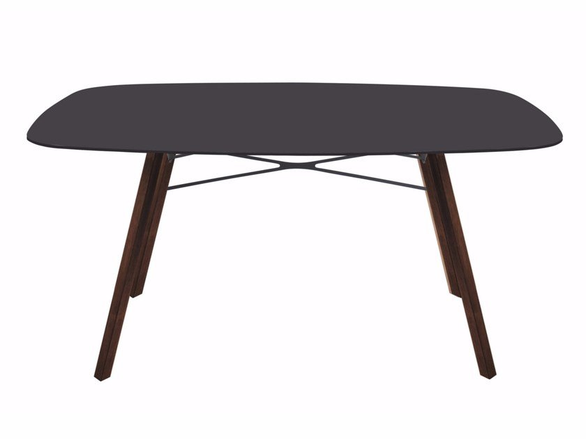 Rectangular garden table WOX IROKO | Rectangular table by Papatya