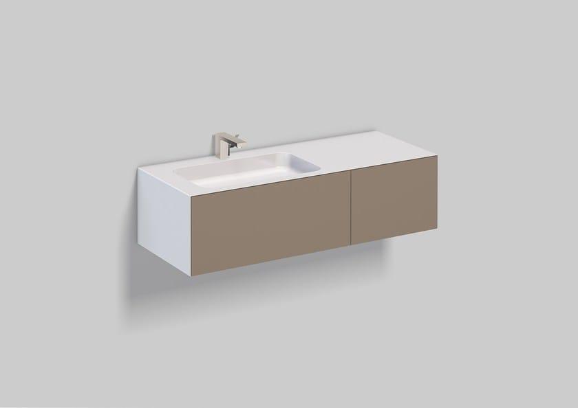 Washplace from glazed steel WP.Folio7 - ALAPE