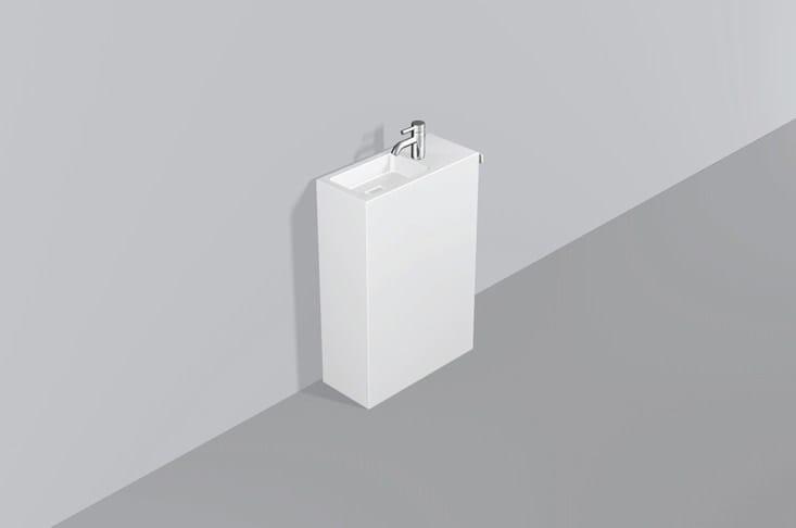 Washplace from glazed steel WP.INS3 - ALAPE