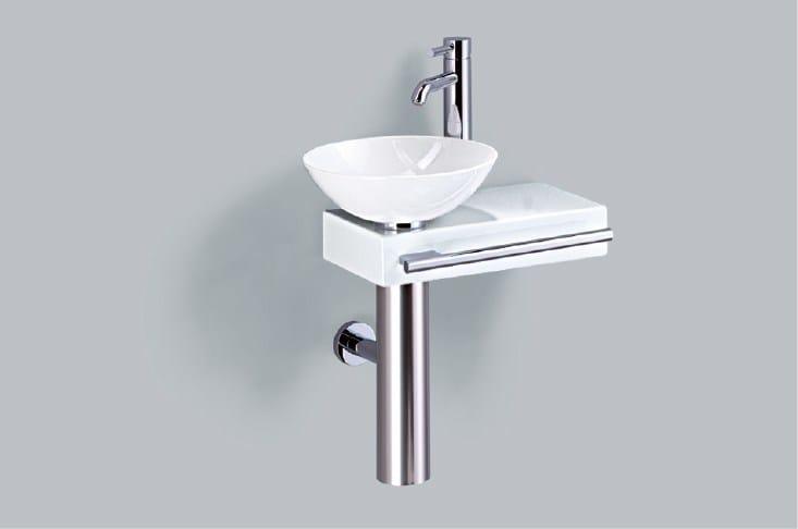 Washplace from glazed steel WP.PI1 - ALAPE