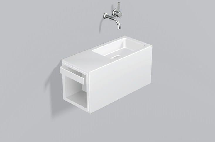 Washplace from glazed steel WP.XS4 - ALAPE
